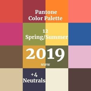 Tops - Colors of 2019